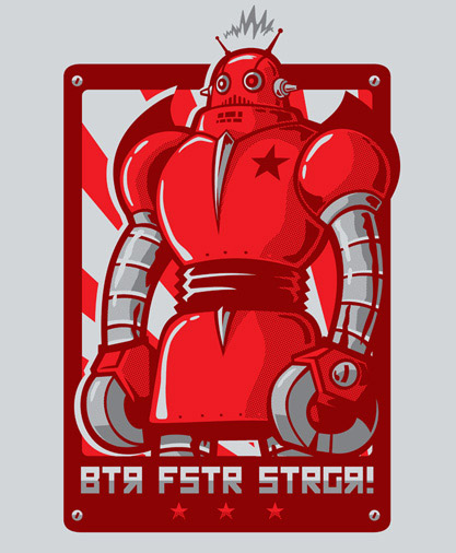 BTR FSTR STRGR Tee