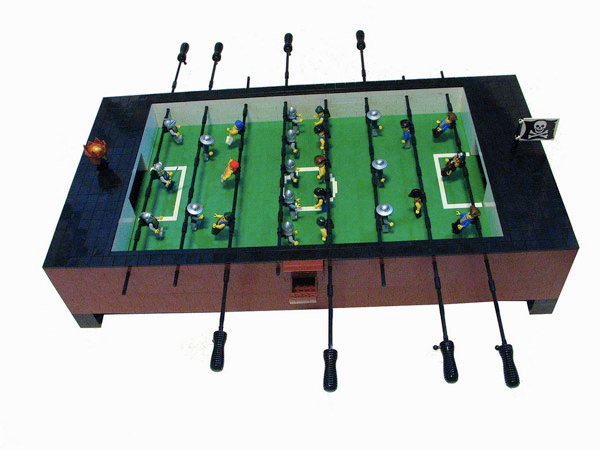 Pirates v. Castle Foosball