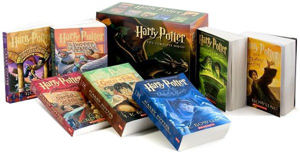 Harry Potter Paperback Set