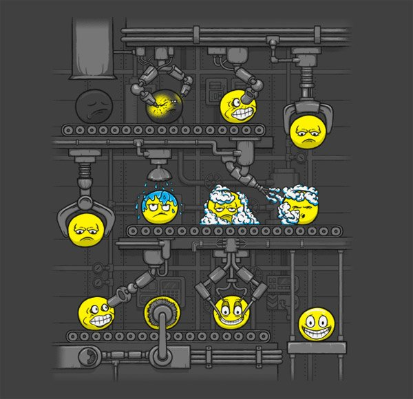 Smiley Factory T-shirt