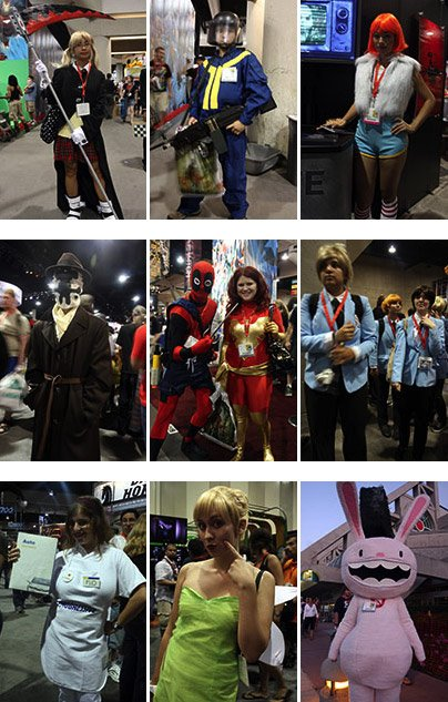 Comic-Con 2009 Cosplay