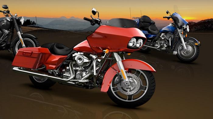 2010 Harley-Davidson Line