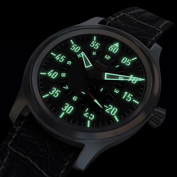 Modern Fliegeruhr Watch