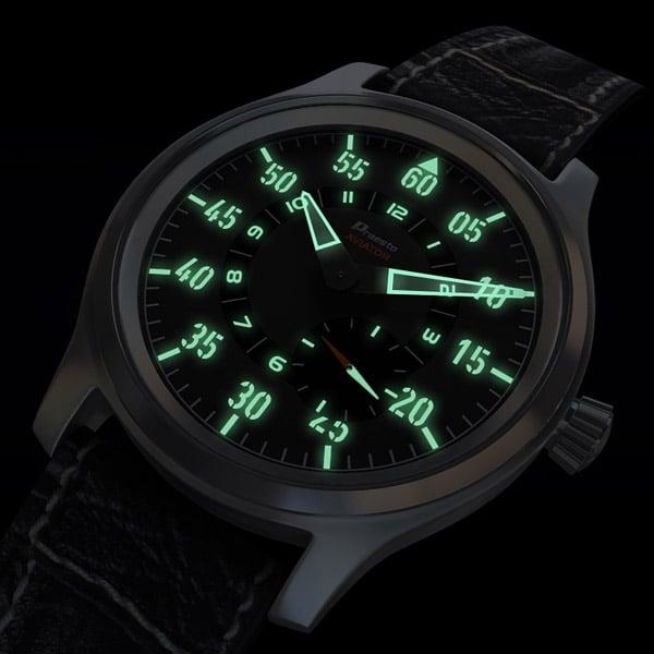 Modern Fliegeruhr Watch