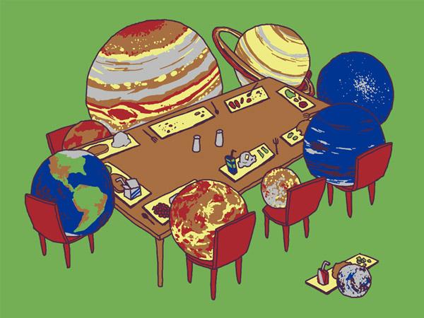 Unplanet Pluto T-shirt