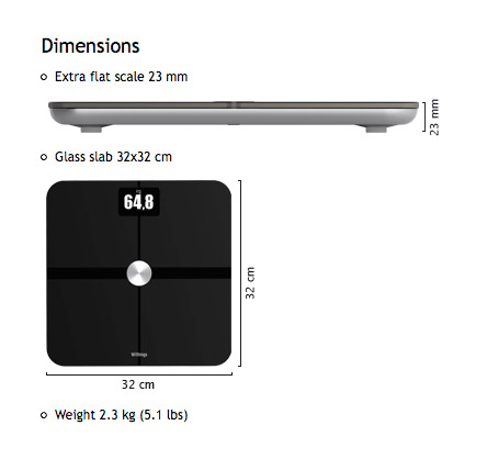 Wi-Fi Connected Scale