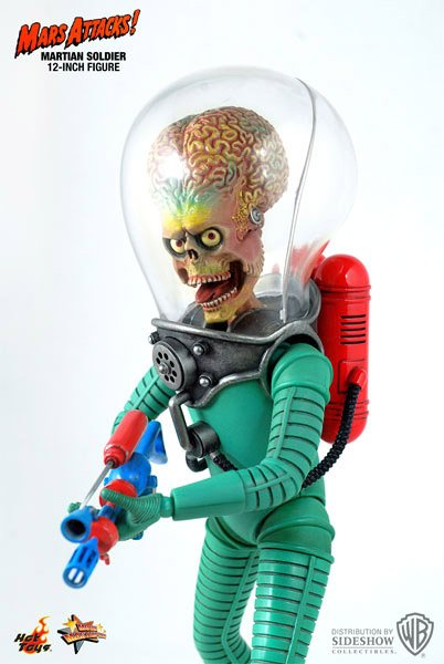 1:6 Mars Attacks Figures