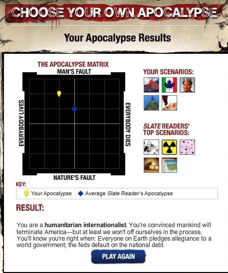 Choose Your Apocalypse
