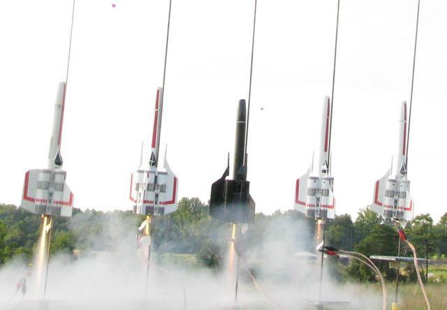DIY BSG Viper Rockets