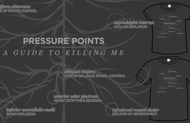 Pressure Points T-shirt