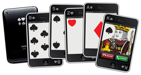 iPhone Playing Cards
