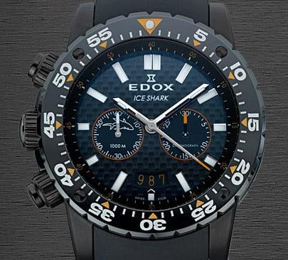Edox Ice Shark Watch
