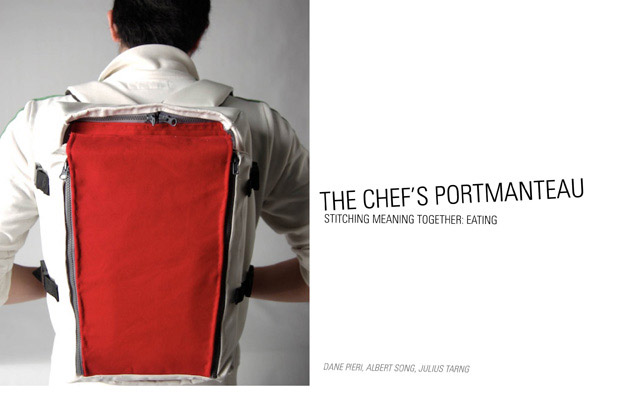 Concept: Chef's Tool Bag