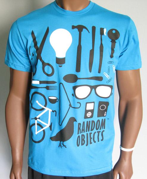 Random Objects T-shirt