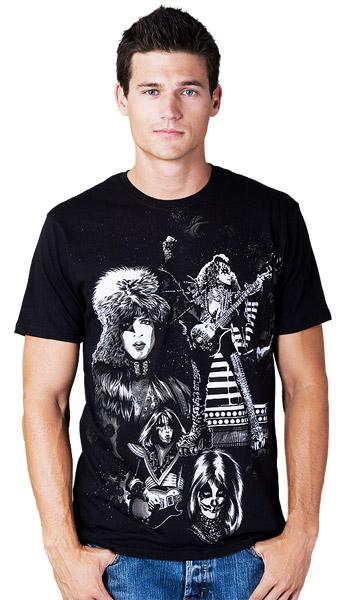 DBH KISS T-shirts