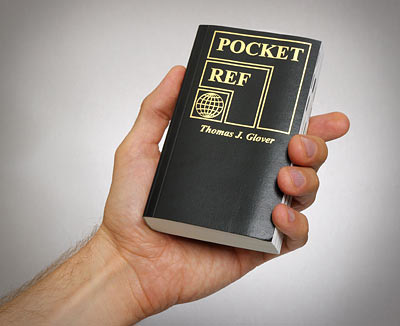 Book: Pocket Ref