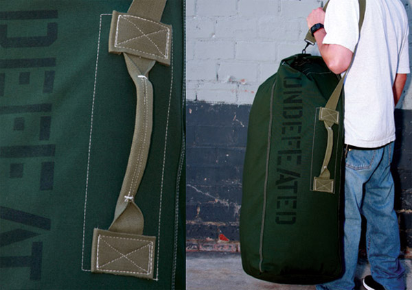 UNDFTD Top Load Duffle