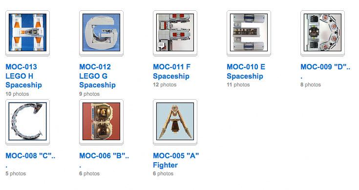 LEGO ABC Spaceships