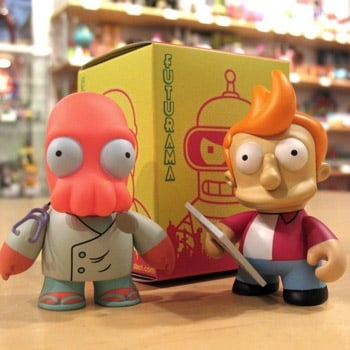 Futurama Mini Figs