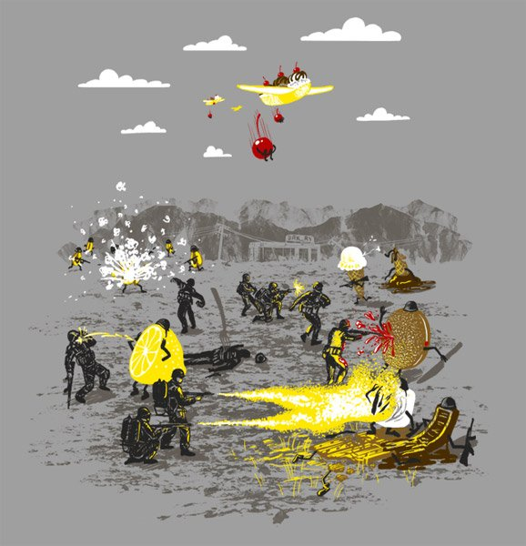 Food Fight T-shirt