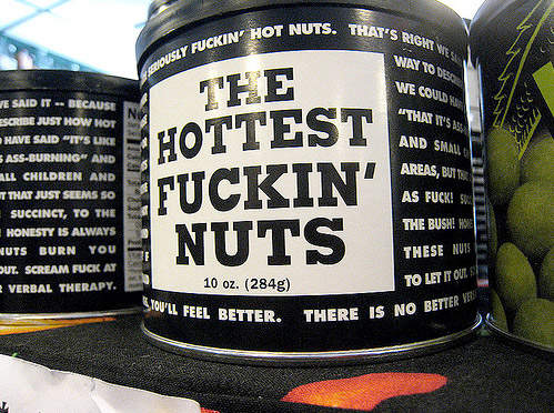 The Hottest F***ing Nuts