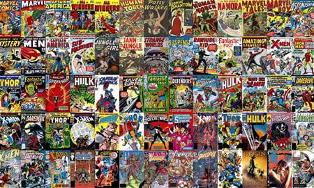 Marvel Comic Murals