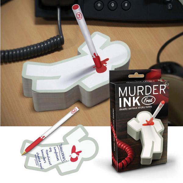 Murder Ink Notepad