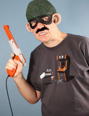 8-Bit Stickup T-shirt