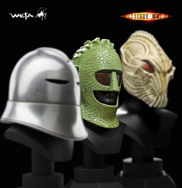 Doctor Who Helmet Pack