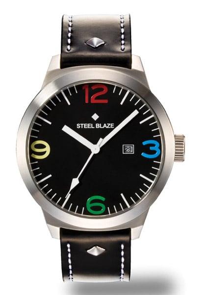 Steel Blaze Watch