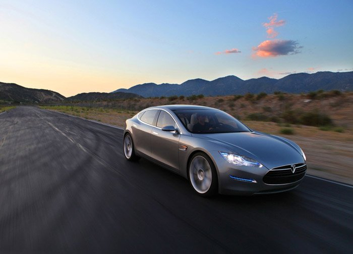 Tesla Model S (Photos)