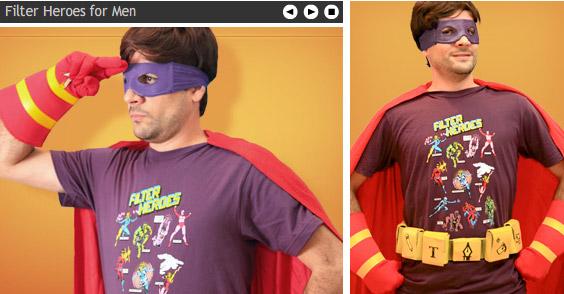 Filter Heroes T-shirt