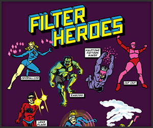 Filter Heroes T-shirt