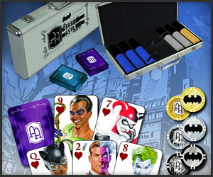 Batman AA Poker Set