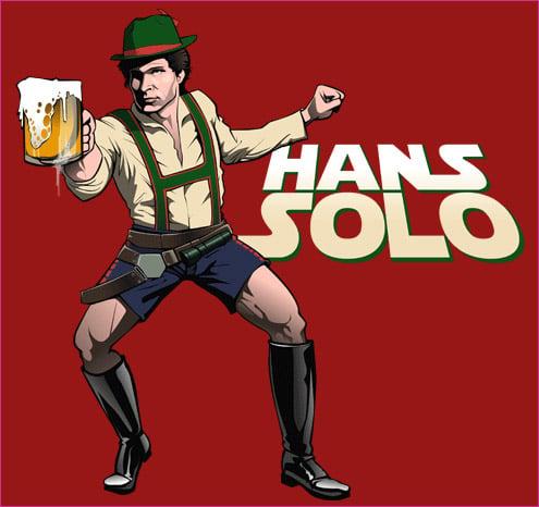 Hans Solo T-shirt