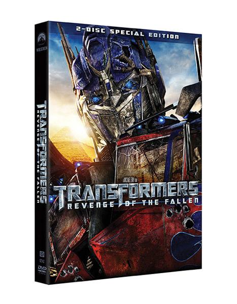 DVD/BD: Transformers 2