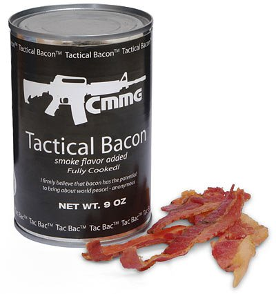 Tactical Canned Bacon
