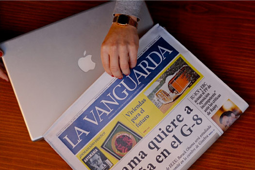 Newspaper Laptop Case
