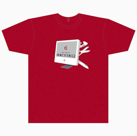iMac Gyver T-shirt