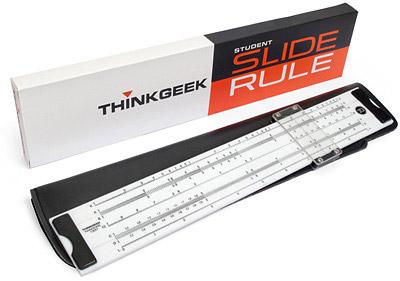 ThinkGeek Slide Rule