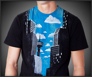 City of No Horizon Tee