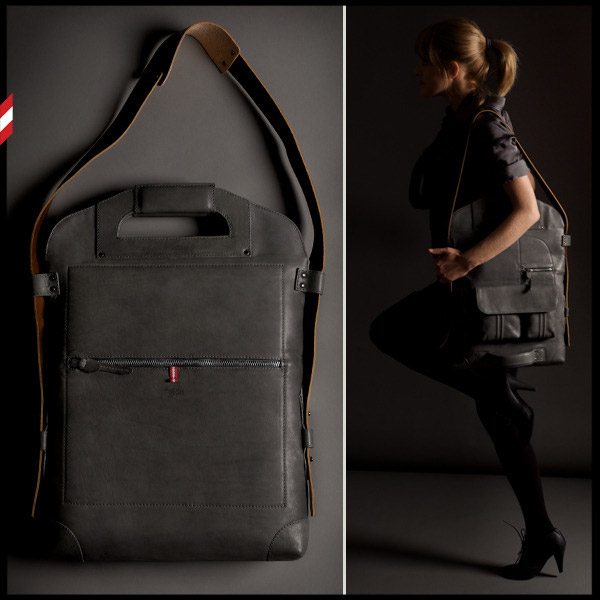 2UNFOLD Grey Bag