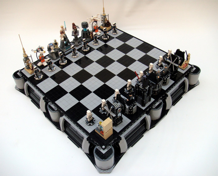 Star Wars x LEGO Chess