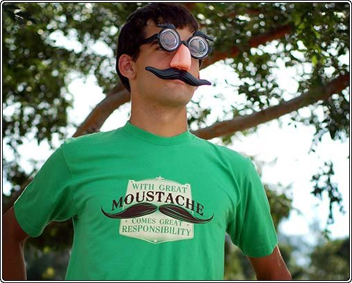 Great Moustache Tee
