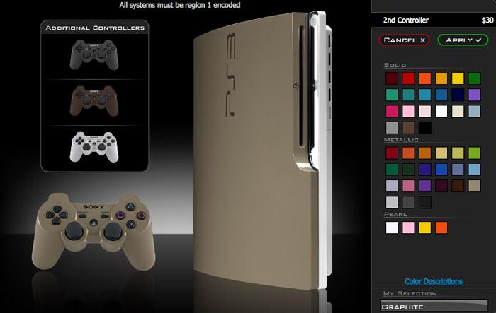 PS3 Slim: ColorWare
