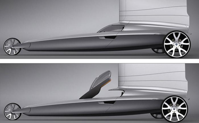 Blue Dynamics Land Yacht
