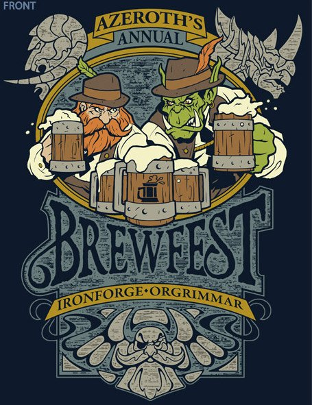 WoW Brewfest T-shirt