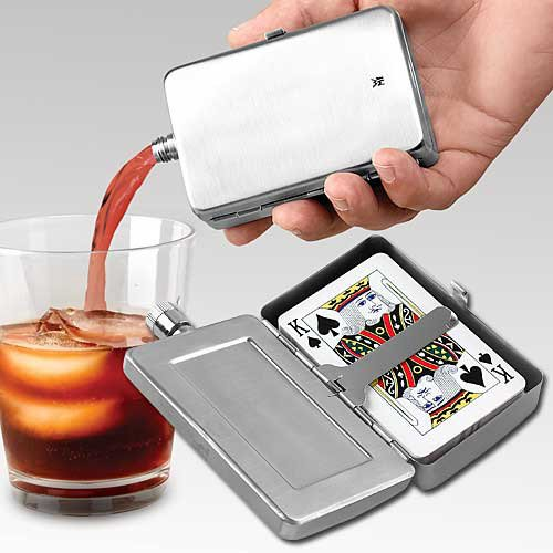 Playing Cards Flask