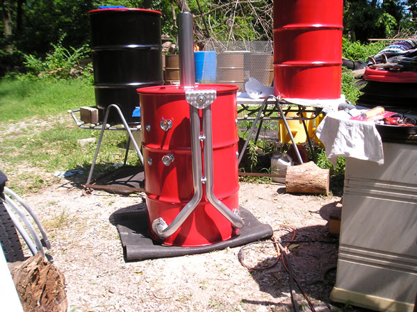55 Gallon Barrel Smoker The Awesomer