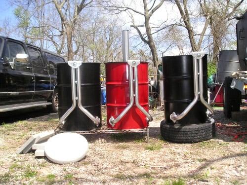 55 Gallon Barrel Smoker